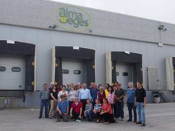 TomGEM partner Alma Seges hosting the project partners at their premises