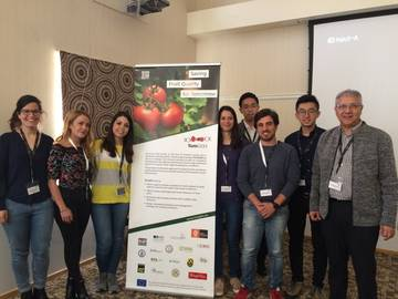 Early Stage Researchers that presented their experimental results together with the TomGEM coordinator Prof. Mondher Bouzayen